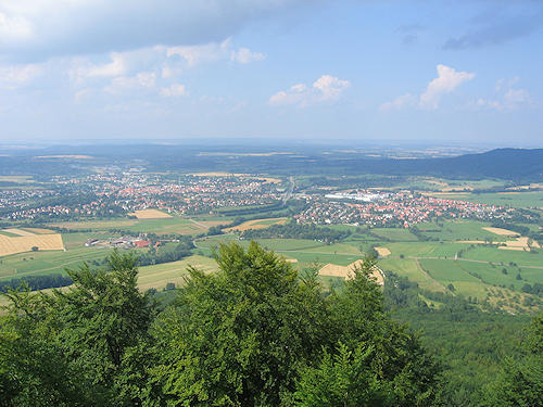 View from Hohenzollern Castle