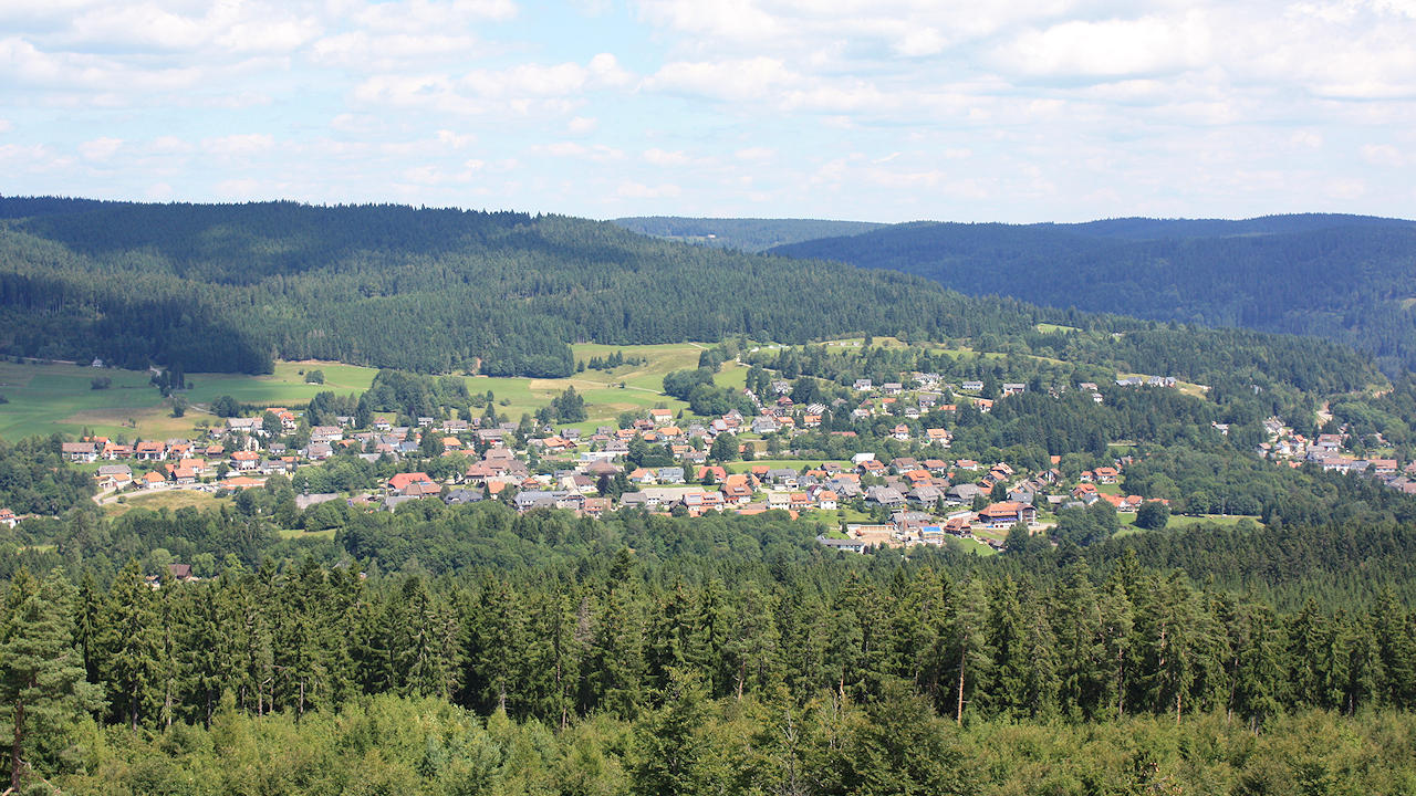 Hausern In The Black Forest