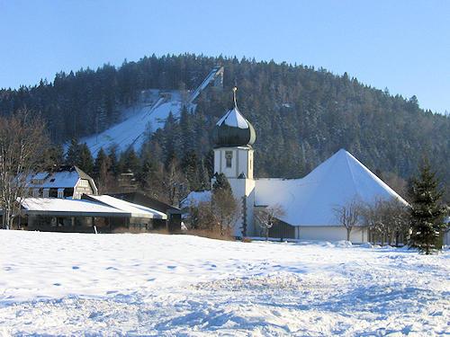 Hinterzarten in the Black Forest