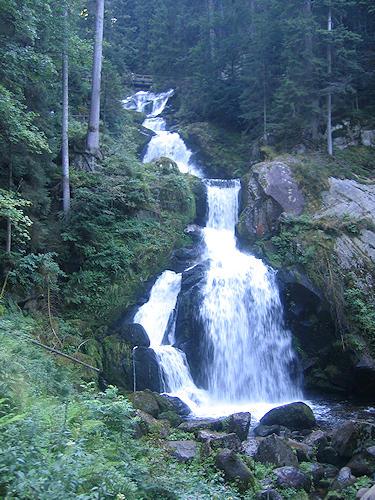 Triberg Waterfalls - Germany's highest waterfalls