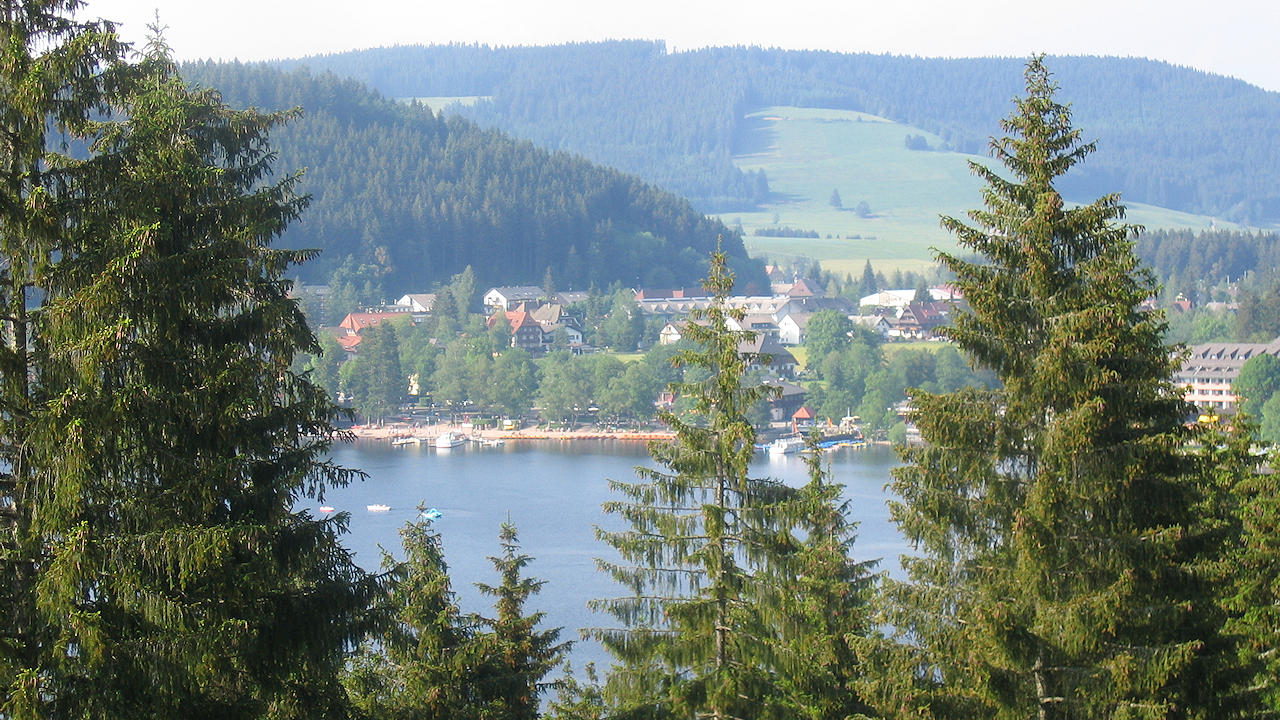 Titisee Neustadt In The Black Forest